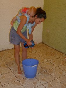 Funny....Seems I was doing the same thing when we first moved into our Guatemala house back in 2011!