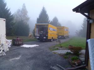 Couldn't believe we needed 2 trucks