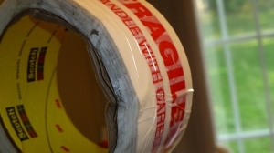 Rumor has it *someone* drove over the fragile tape! (Wayne...)