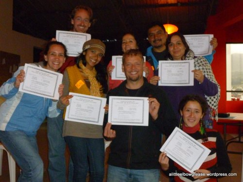 We all got our certificates!
