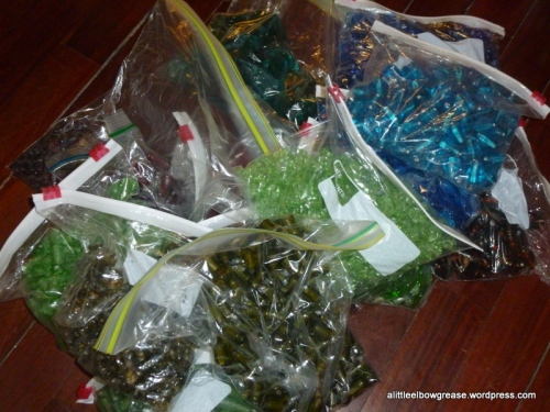Bags and bags of beads!